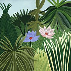 Henri Rousseau - study