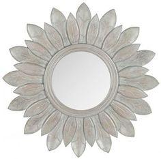Leaflet Wall Mirror - Round Mirrors - Decorative Mirrors - Round Wall Mirror…