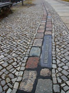 Traces of the Berlin wall
