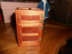 Don Cnossen -  antique style ice box; sold on ebay for $24.99