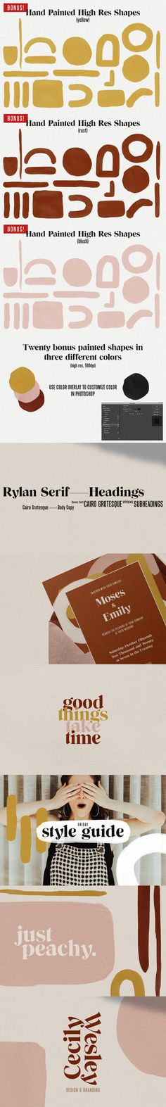 Rylan is the classic serif I've been looking for in my design work – clean lines, modern serifs, and just a touch of vintage. Upper And Lowercase Letters, Letters And Numbers, Lowercase A, Best Serif Fonts, Modern Fonts, Just Peachy, Color Shapes, Printed Materials, Looking Gorgeous