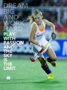 'Dream big and work hard' #hockeynl