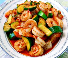 9. Sweet and Spicy Shrimp and Zucchini Stir-Fry #beginner #dinner #recipes…