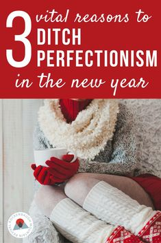 Struggling with perfectionism?  Here's a little truth about what perfectionism is costing us every day. It's a new year, and you don't have to live this way!
