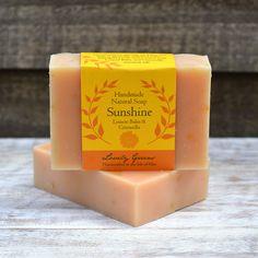 Handmade Sunshine soap