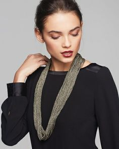 Eileen Fisher Necklace Scarf from Bloomingdale's on Catalog Spree, my personal digital mall.