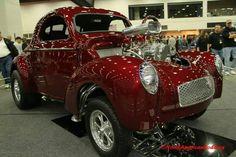 Willys gasser show car