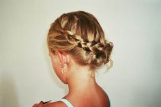 Im always finding new ways to try and french braid my hair. Although they are not all succesful.