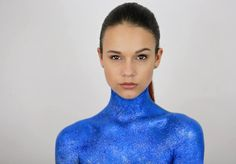 Blue sparkle  Photographer: Sandra C S Photography MUA: Myself