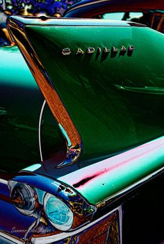 Classic Cadillac tail fin. by wexfenne24, via Flickr
