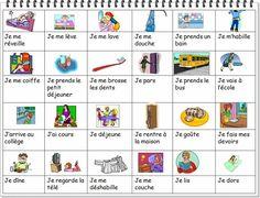 MA JOURNÉE on FLE enfants curated by Pilar_Mun