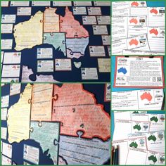 Our Australian Geography and Landmarks Unit helps you to explore Australia with your students. This resource integrates reading, writing and social studies. Geography Quotes, Geography Quiz, Geography Worksheets, Ap Human Geography, Geography Lesson Plans, Geography Revision, Physical Geography, Geography Games For Kids, Geography Classroom