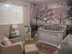 aubrees enchanted forest nursery enchanted forest decorationsenchanted forest bedroomfairy