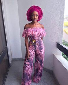 African Print Dresses and Short Aso Ebi Styles - Reny styles Aso Ebi Lace Styles, Lace Dress Styles, African Lace Dresses, African Dresses For Women, African Attire, African Fashion Dresses, African Outfits, Ankara Styles, African Wear
