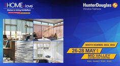 Come to visit our booth in this coming exhibition to find out Hunter Douglas Window Fashions latest product offerings! Date: 26 May – 28 May 2017 (Friday – Sunday) Time: 10am – 10pm Venue: Mid Valley Exhibition Center Booth Number: 3043, 3044