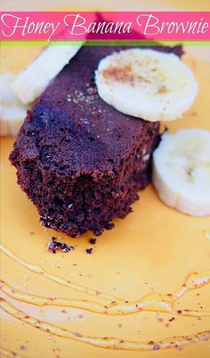 Honey Banana Brownie