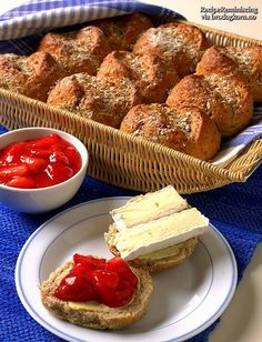 Rolls With Yogurt - Exciting rolls made with barley, wheat, rye and yogurt. Freeze them and serve hot and fresh for Sunday breakfast.