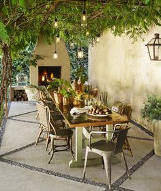 This Old House's Beautiful Patio Set Up