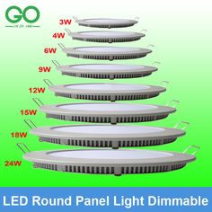 Cheap light, Buy Quality light handle directly from China light stack Suppliers:  If you want Non-dimmable Round Panel Light,please click the link as below:   http://www.aliexpress.com/s
