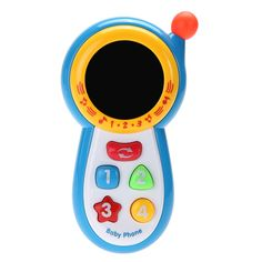 Baby Study Musical Sound Cell Phone Toys