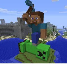 minecraft statue