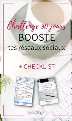 Challenge 30 jours : Booste tes réseaux sociaux #ChallengeBoosteTesRéseaux #socialmedia #freebies #free