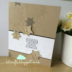 Stampin up flurry of wishes Kraftin' Karyn