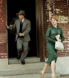 """Bonnie and Clyde"" Bonnie And Clyde 2013, 1930s Fashion, Vintage Fashion, Bonnie Parker, Lisa Parker, Pretty Boy Floyd, Holliday Grainger, Faye Dunaway, 20th Century Fashion"