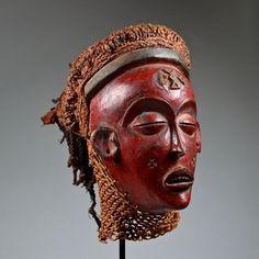 Chokwe Mwana Pwo Mask. Angola