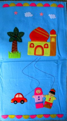 handmade childrens prayer rug