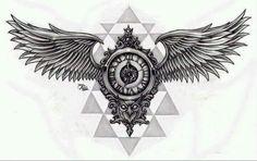 Feather Tattoos, Body Art Tattoos, Small Tattoos, Sleeve Tattoos, Tattoos For Guys, Cool Tattoos, Wing Tattoo Designs, Tattoo Design Drawings, Tattoo Designs For Women