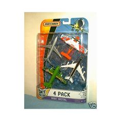 Matchbox MBX Metal/Sky Busters/Matchbox 4 Pack Airplanes