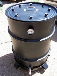 Drum Barrel Smoker