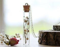 Wildflower irlandese collana collana di di RubyRobinBoutique