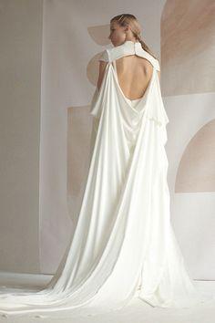 Bridal satin cape Minimalist cape for bride Wedding draped cover up in silk and crepe CLEMENTINE Wedding Draping, Wedding Bride, Gown Wedding, Wedding Blog, Lace Wedding, Long Sleeve Wedding, One Shoulder Wedding Dress, Bridal Gowns, Wedding Dresses