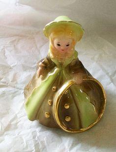 Josef Originals girl figurine  vintage Josef by NewtoUVintage