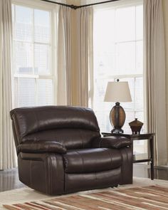 Fall in love with the Damacio Dark Brown Zero Wall Wide Seat Recliner by Signature Design by Ashley at Direct Value Furniture proudly serving Roscoe, IL and surrounding areas for over 10 years! Living Room Chairs, Living Room Furniture, Dining Room, Country Furniture, Dining Chairs, Outdoor Furniture, Oversized Recliner, Ashley Sofa, Buy Sofa