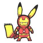 pikachu__ironman by mnrART