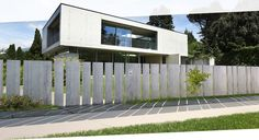 Fancy Fence - Retractable gate - Home