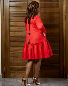 Latest African Fashion Dresses, African Dresses For Women, African Print Fashion, Africa Fashion, African Attire, Women's Fashion Dresses, Skirt Fashion, Semi Casual Dresses, Modest Dresses