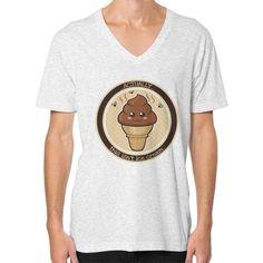 THIS ISN'T Ice Cream V-Neck (on man)