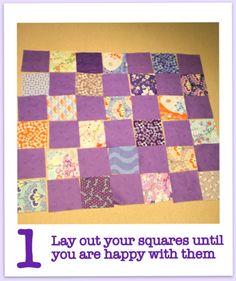 Good beginner quilt tutorial