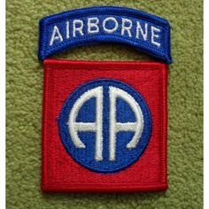 US Army 82nd Airborne Division Patch Color
