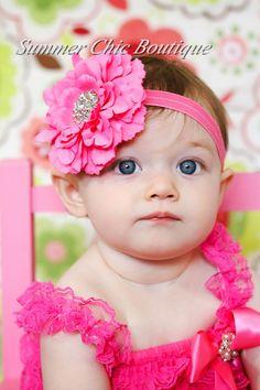 261 Best Baby Headbands images  d09c60c457e