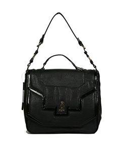 Christian Audigier Womens Vilma Handbag 3PU326MO-black  List Price: $150.00 Buy Now: $24.99
