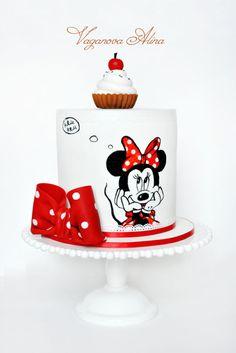 #minnie #mickey #mouse #cake #birthday
