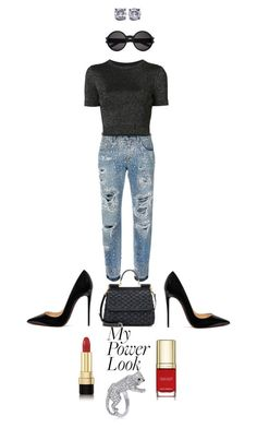 Job Day 957 by minigiulia on Polyvore featuring moda, Cushnie Et Ochs, Dolce&Gabbana, Christian Louboutin, Cartier, Bottega Veneta and Yves Saint Laurent