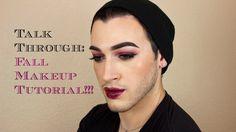 Talk through: Fall Makeup Tutorial - Purple Smokey Eye | MannyMua