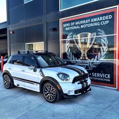 Mini of Murray, love this place and love this Countryman!