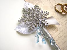 Hey, I found this really awesome Etsy listing at https://www.etsy.com/listing/248398406/snowflake-brooch-boutonniere-mens-lapel